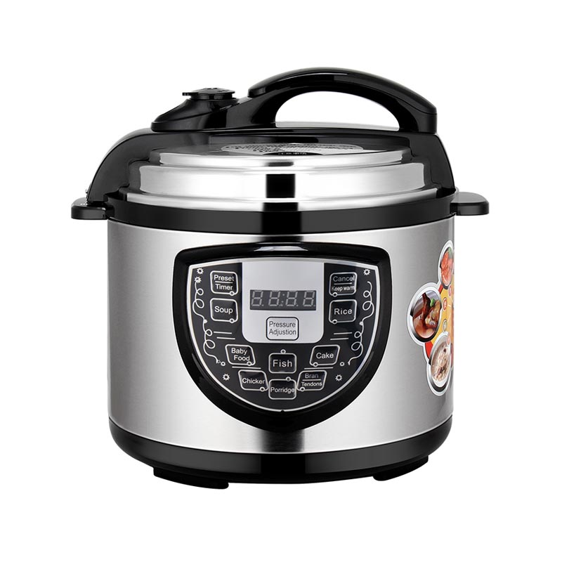 Home kitchen appliance multifunction aluminium inner pot electrical instant pressure cooker